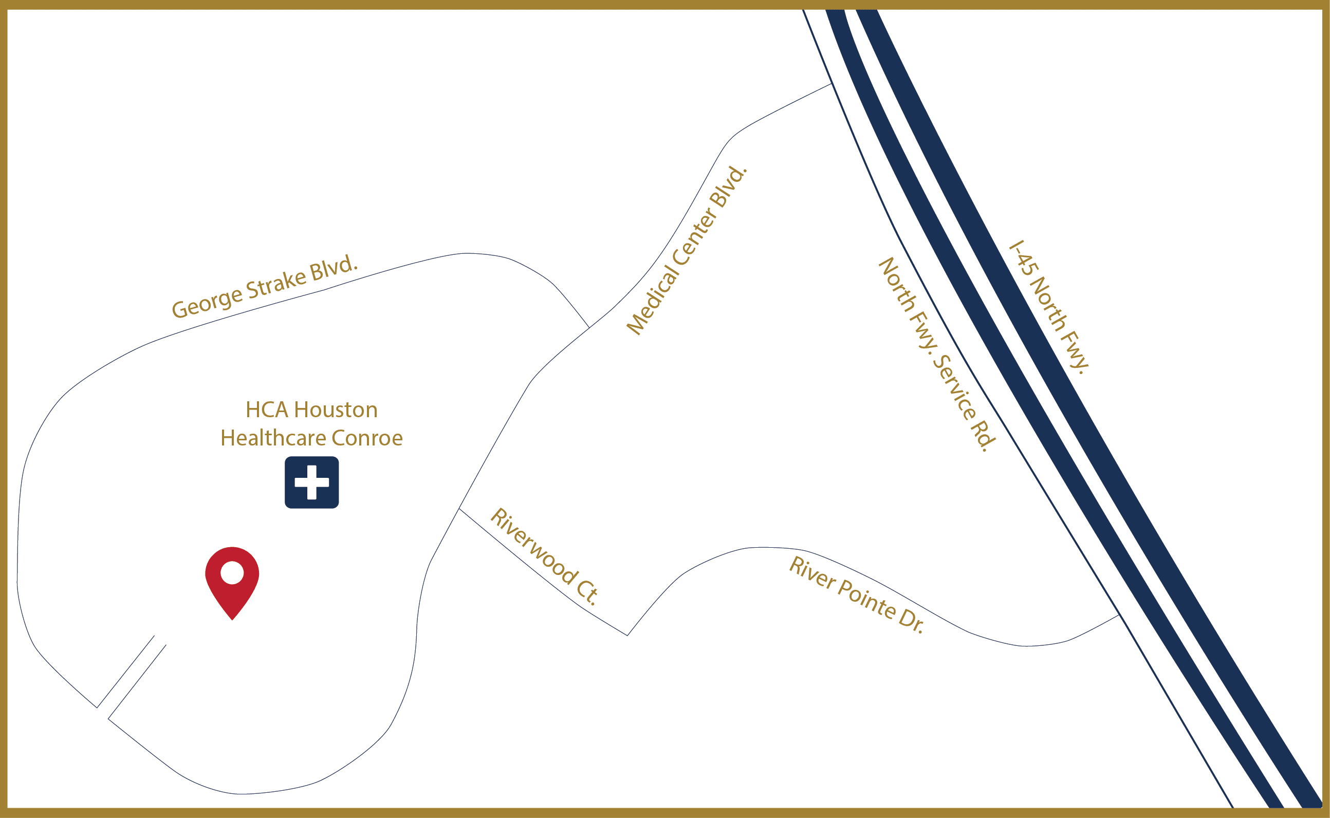 506 Medical Center Blvd. Map